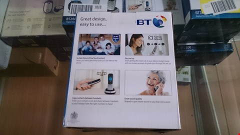 Lot 1418 BOXED BT 2100 TWIN CORDLESS PHONE  RRP £65.00