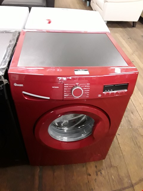Lot 5 SWAN RED 8KG LOAD 1200 SPIN WASHING MACHINE