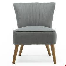 Lot 96 BOXED DESIGNER AYLA PUMICE OCCASIONAL CHAIR RRP £299.99