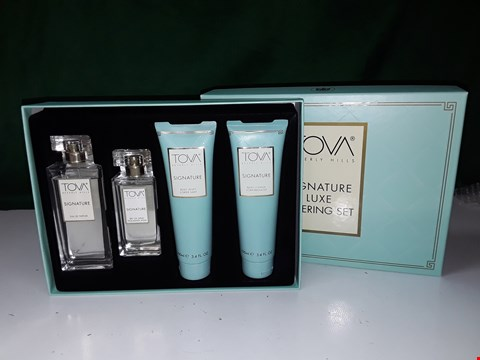 Lot 1313 TOVA SIGNATURE 4 PIECE FRAGRANCE LAYERING GIFT SET
