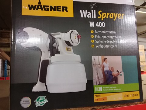 Lot 13840 BOXED WAGNER W400 WALL SPRAYER