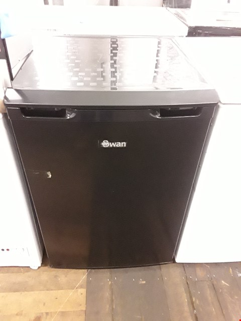 Lot 9012 SWAN SR70180B 55CM WIDE UNDER-COUNTER FREEZER - BLACK