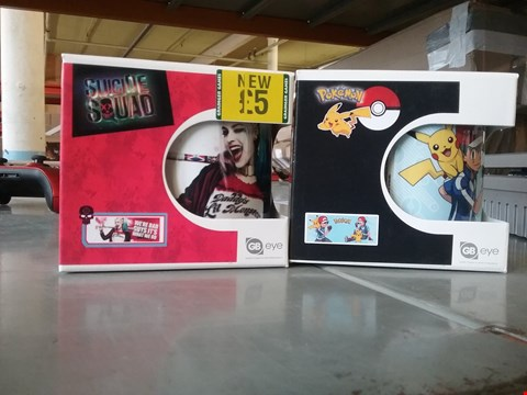 Lot 2106 LOT OF 2 BRAND NEW ITEMS TO INCLUDE POKEMON MUG AND SUICIDE SQUAD MUG