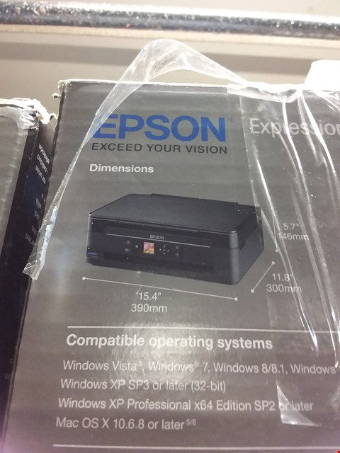 Lot 1250 EPSON XP-342 WIFI PRINTER
