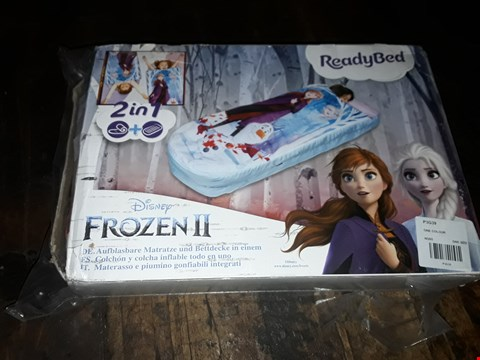 Lot 4062 DISNEY FROZEN 2 JUNIOR READYBED RRP £37.99