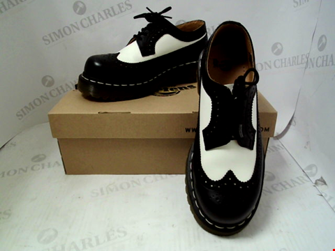 Lot 54 BOXED PAIR OF DESIGNER DR MARTENS - UK SIZE 5