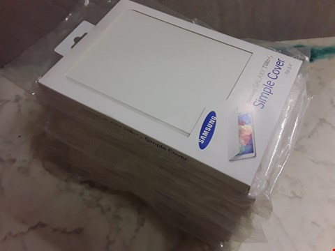 """Lot 6211 LOT OF 10 SAMSUNG GALAXY TAB S SIMPLE COVERS FOR 8.4"""" TABLETS"""