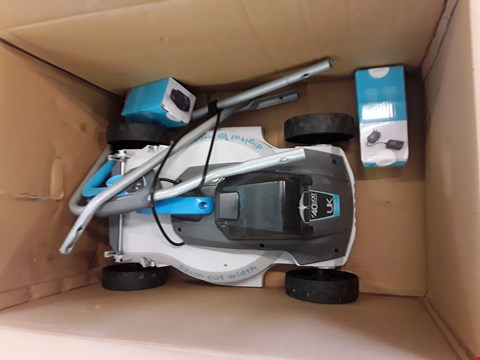 Lot 717 BOXED CHALLENGE CORDLESS LAWN MOWER