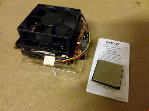 Lot 920 AMDFX PROCESSOR BLACK EDITION