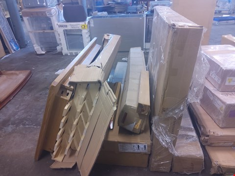 Lot 615 6 BOXES OF ASSORTED FLAT PACK PARTS AND TABLE TOP