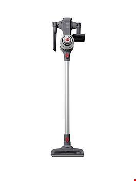 Lot 1018 HOOVER FREEDOM FD22G 22.2-VOLT CORDLESS 2-IN-1 STICK VACUUM CLEANER - SILVER/GREY RRP £269.99