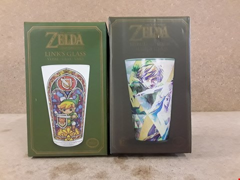 Lot 307 2 BRAND NEW BOXED ZELDA GLASSES