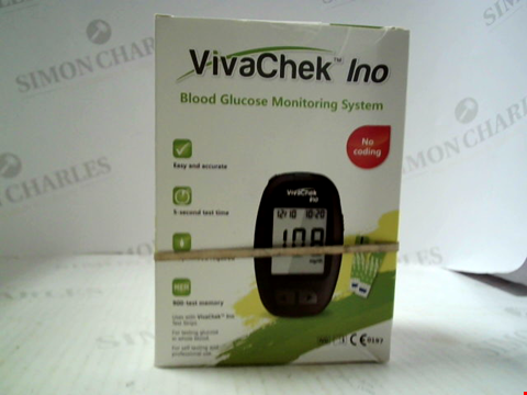 Lot 5598 VIVACHECK INO BLOOD GLUCOSE MONITORING SYSTEM