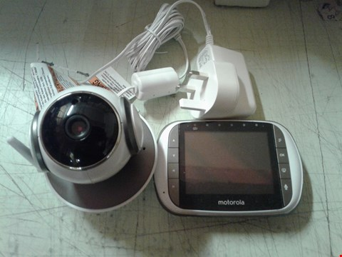 Lot 4191 MOTOROLA DIGITAL VIDEO BABY MONITOR WITH WI-FI INTERNET VIEWING