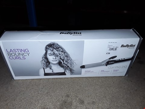 Lot 261 BABYLISS CURL PRO 210 HAIR CURLERS