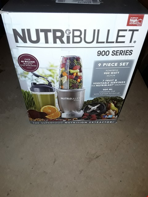 Lot 346 NUTRIBULLET 900 SERIES BLENDER