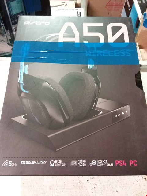 Lot 642 ASTRO A50 WIRELESS GAMING HEADSET