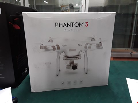 Lot 1006 DJI PHANTOM 3 ADVANCED DRONE  RRP £919.99