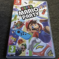 Lot 2523 SUPER MARIO PARTY NINTENDO SWITCH GAME