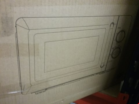 Lot 3297 SWAN MANUAL MICROWAVE OVEN SM22080R RED RRP £89.99