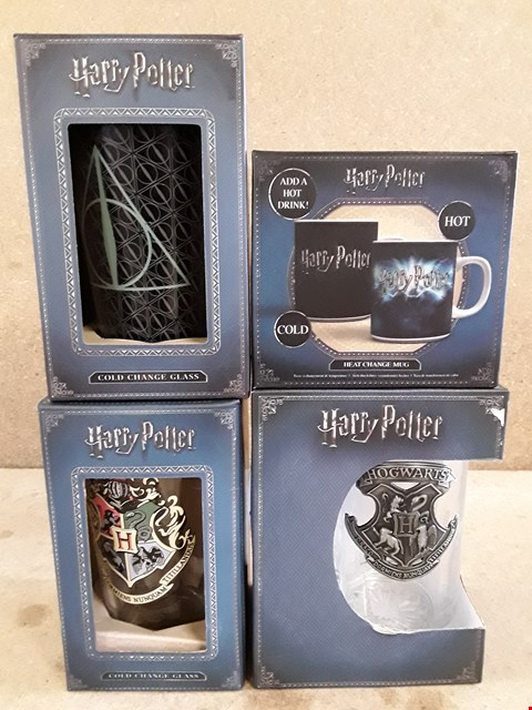 Lot 325 4 BRAND NEW ITEMS TO INCLUDE 3 GLASSES AND MUG