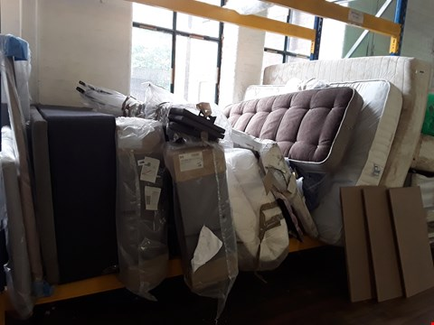 Lot 48 LOT OF APPROXIMATELY 14 ASSORTED ITEMS TO INCLUDE MATTRESSES, BASES, BED FEAMES ETC