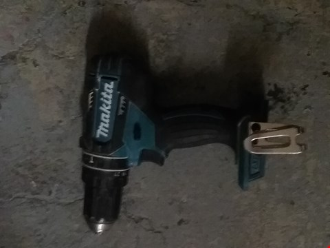 Lot 634 MAKITA DHP482Z 18 V 62NM COMBI DRILL BODY ONLY - BLUE
