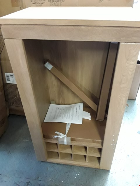 Lot 138 BOXED WILLIS & GAMBIER MAZE COLLECTION MINI HUTCH STORAGE WITH ILLUMINATED STRIPS AND BOTTLE RACK