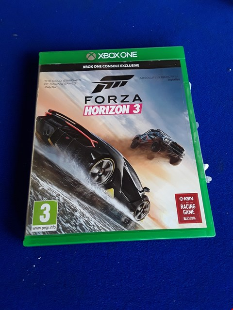 Lot 7661 FORZA HORIZON 3 XBOX ONE GAME