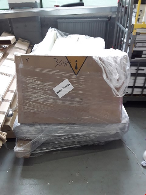 Lot 2473 PALLET OF ASSORTED FURNITURE PARTS