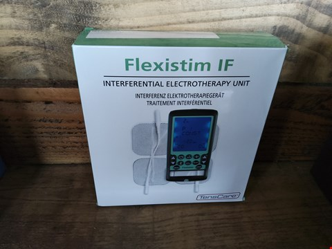 Lot 37 BOXED FLEXISTIM IF INTERFERENTIAL ELECTROTHERAPY UNIT