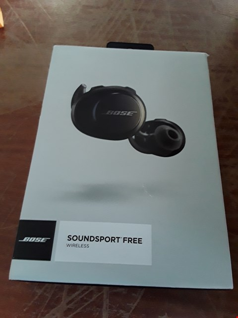 Lot 293 DESIGNER BOSE SOUNDSPORT FREE WIRELESS EARBUDS