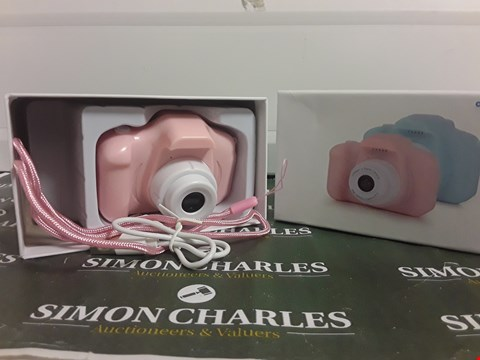Lot 262 BOXED CHILDRENS DIGITAL CAMERA