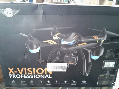 Lot 7932 X-VISION PROFESSIONAL DRONE WITH HD CAMERA