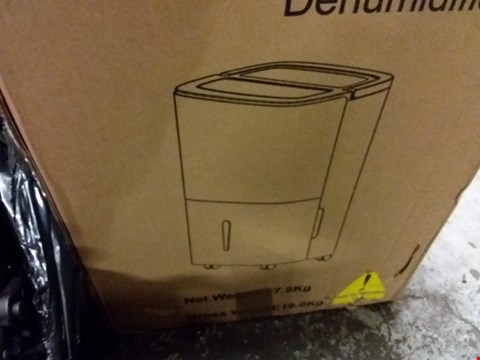 Lot 5108 BOXED GRADE 1 SWAN 30-LITRE DEHUMIDIFIER-WHITE RRP £209.99