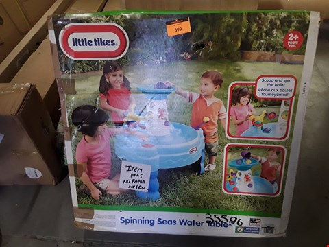 Lot 399 BOXED LITTLE TIKES SPINNING SEAS WATER TABLE