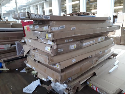 Lot 9126 PALLET OF ASSORTED FLAT PACK FURNITURE PARTS