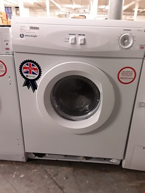 Lot 31 WHITE KNIGHT 7KG VENTED TUMBLE DRYER RRP £170