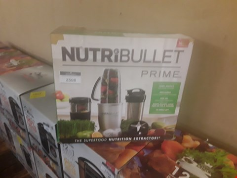 Lot 170 NUTRIBULLET PRIME 12 PIECE SET