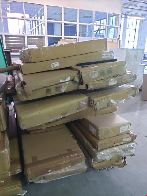 Lot 104 PALLET OF ASSORTED FLAT PACK FURNITURE PARTS