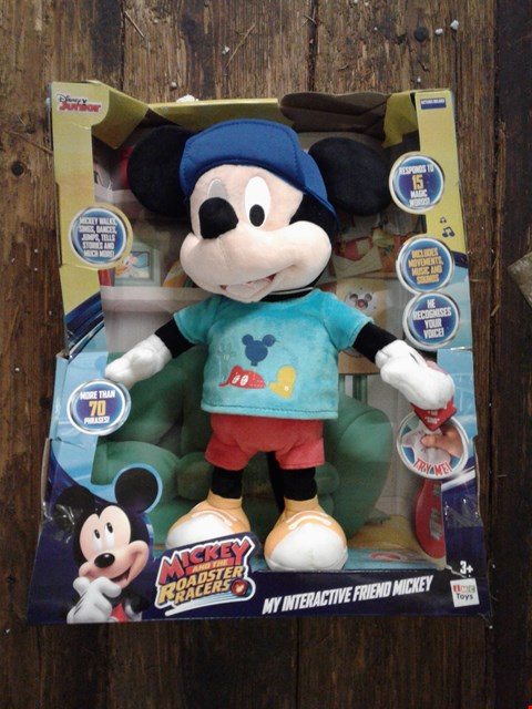 Lot 2081 BOXED GRADE 1 DISNEY MY INTERACTIVE FRIEND MICKEY RRP £70