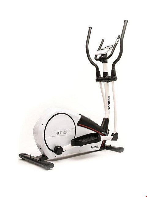 Lot 17 BOXED REEBOK JET 100 CROSS TRAINER IN WHITE  RRP £620.00