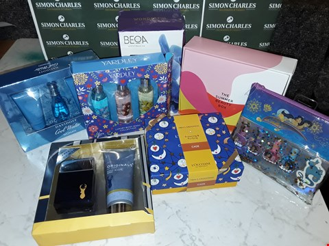 Lot 12064 LOT OF 10 APPROXIMATELY ASSORTED BEAUTY BOXSETS TO INCLUDE DAVIDOFF, NEXT, LOCCITANE AND YARDLEY STYLES
