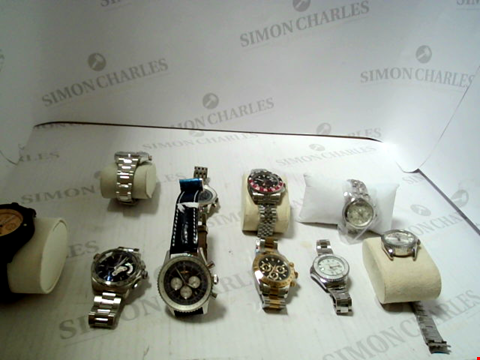 Lot 7134 LOT OF 10 ASSORTED WRISTWATCHES