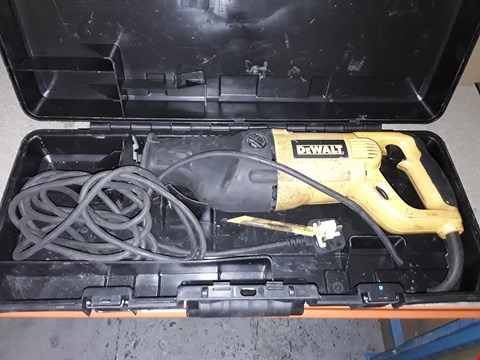 Lot 690 DEWALT DW311K 240V 1200W HEAVY DUTY RECIPROCATING SAW