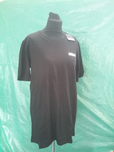 Lot 4146 BRAND NEW LEVEL 1 BLACK T SHIRT SIZE S RRP £29.99