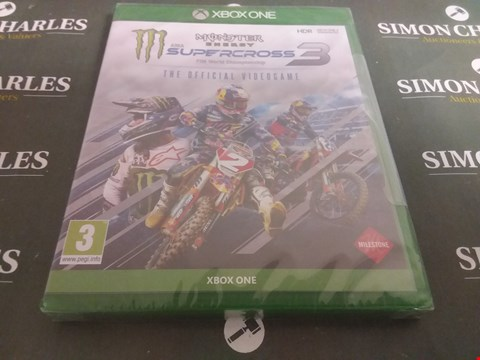 Lot 1064 SUPERCROSS 3 FOR XBOX ONE