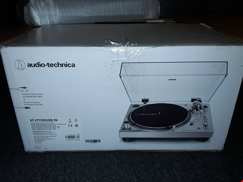 Lot 38 BOXED AUDIO TECHNIKA DIRECT DRIVE TURNTABLE - AT-LP120XUSB