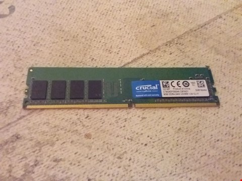 Lot 805 CRUCIAL DDR4-2400 8GB RAM CHIP