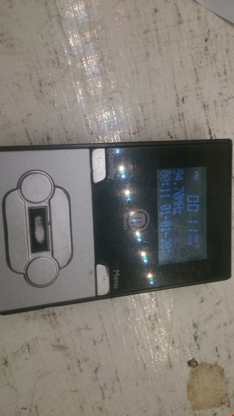 Lot 75 MINI DAB RADIO